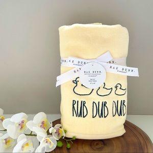 Rae Dunn towel set